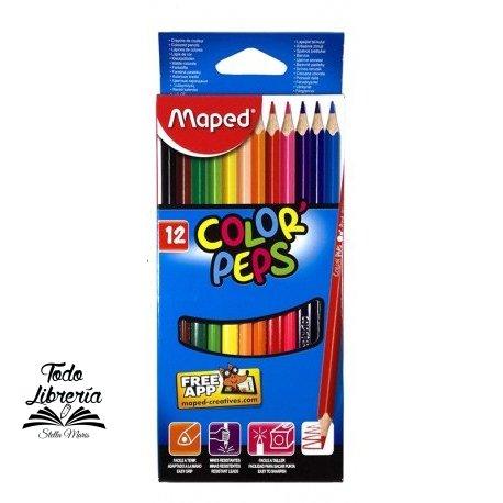Pinturitas Maped Color Peps x 12 largos