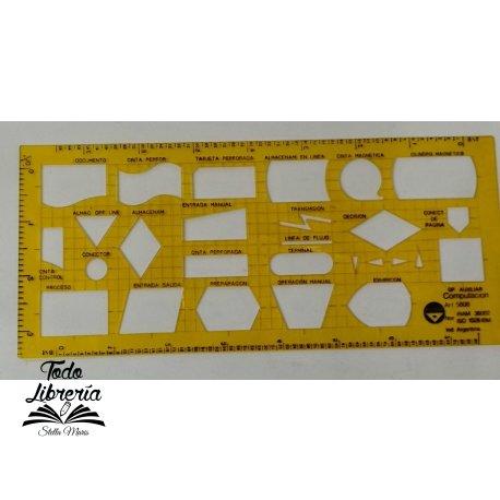 Plantilla Pizzini ART5808  auxiliar computación