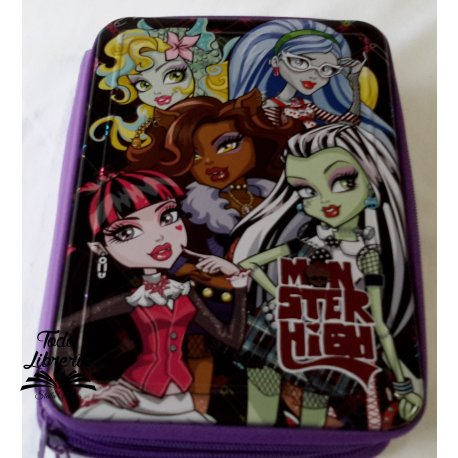 Canopla MONSTER HIGH tipo metal 2 pisos