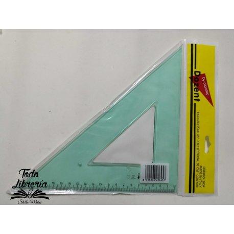Escuadra Dozent acril técnica 30 x 45 cm 2634