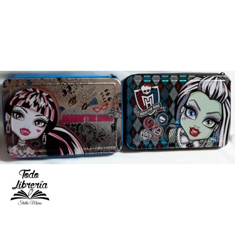 Canopla MONSTER HIGH tipo metal 1 pisos