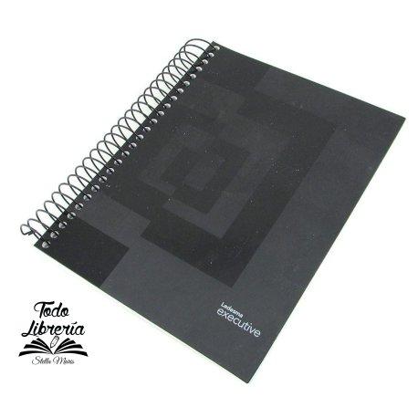 Cuaderno Ledesma 16 x 21 executive espiral t/pp 120 hojas cuadriculado/rayado