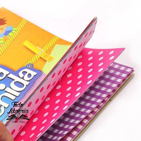 Cartulina Entretenida Muresco block 20 hojas 5 diseños geométricos