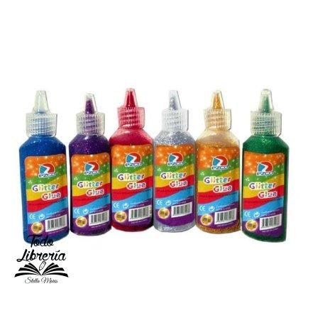 Adhesivo glitter Ezco 21 gramos por color