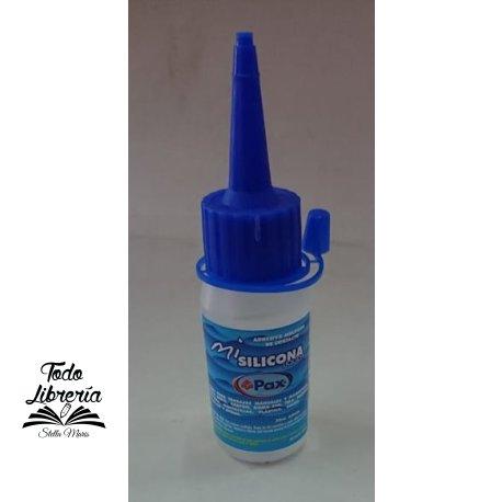 Adhesivo pax silicona liquida transparente 30 ml