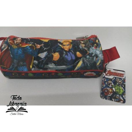 Cartuchera neoprene tubo Avengers