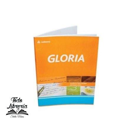 Cuaderno Gloria tapa flexible 84 hojas cuadriculado/rayado