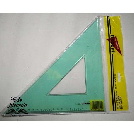 Escuadra Dozent acril técnica 35 x 45 cm 2636