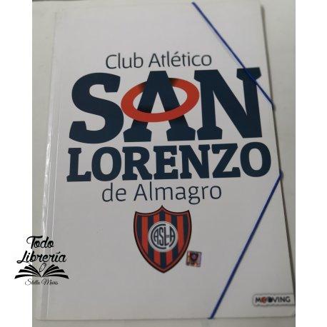 Carpeta 3 solapas con elástico San Lorenzo