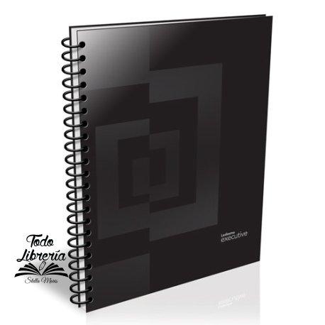 Cuaderno 29,7 Ledesma executive tapa dura 84 hojas cuadriculado /rayadoespiral