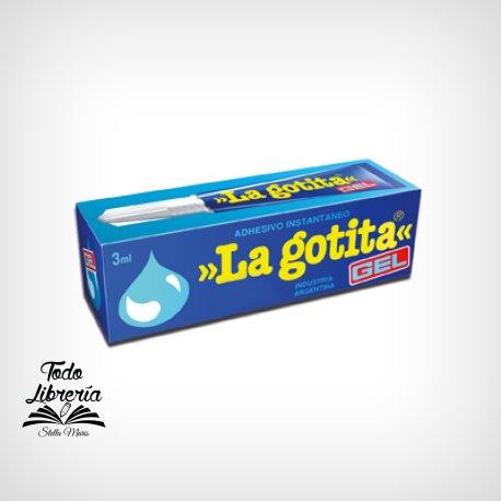 Adhesivo instantaneo La Gotita gel 3 gramos