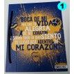 Carpeta Nº 3 cartoné Boca Juniors