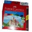 Pinturitas  Faber Castell ecolápices X 24 Colores (estuche cartón)